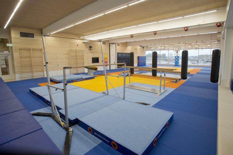 31-01-2018: sport: FAKT ruimten topsporthal gemeente Almere Fotograaf: Fred Rotgans